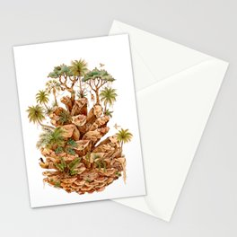 The Pinecone and the Rainforest Stationery Cards
