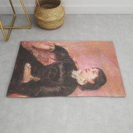Mary Cassatt - Portrait of an Italian Lady Rug