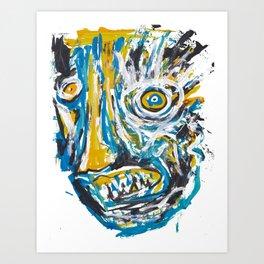 Psicosis Art Print