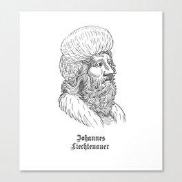 Johannes Liechtenauer Canvas Print