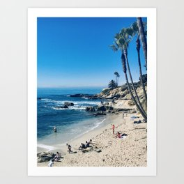 laguna on my mind  Art Print