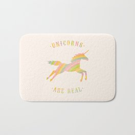 Unicorns Are Real Bath Mat