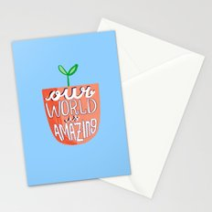 Our World Is Amazing Stationery Cards