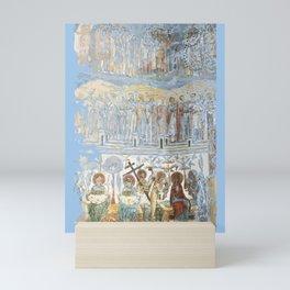 Voronet Church - As Below So Above (by ACCI) Mini Art Print