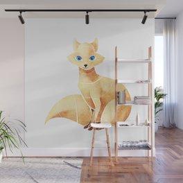 Arctic fox Wall Mural