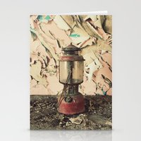 lantern Stationery Cards featuring Lantern by Shaun Lowe