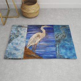 Blue Heron Rug