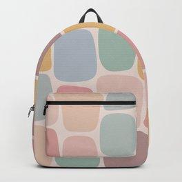 Minimal Blocks - Pastel Rainbow Backpack