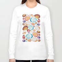 eggs Long Sleeve T-shirts featuring Eggs by Sushibird