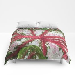Heart of the Leaf Comforters