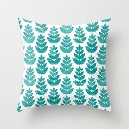 Minori Leaf Throw Pillow