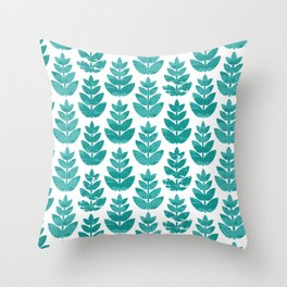 Minori Leaf Throw Pillow
