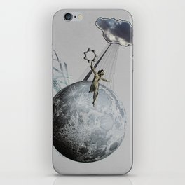 Private Moon iPhone Skin