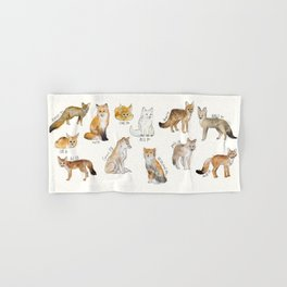 Foxes Hand & Bath Towel