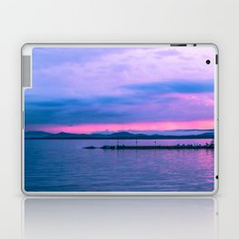 Sunset on the lake Laptop & iPad Skin