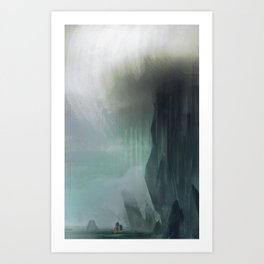 Dark Tide Art Print
