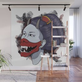hannya girl Wall Mural