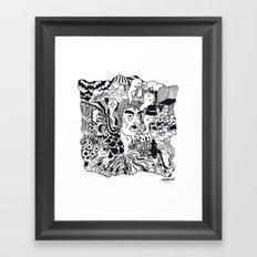 cabeza Framed Art Print
