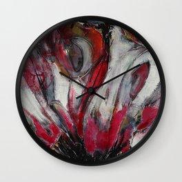 Butterfly Flutter Wall Clock