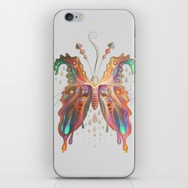Monarch Butterfly of Spades iPhone Skin