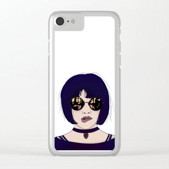 Mathilda Clear iPhone Case