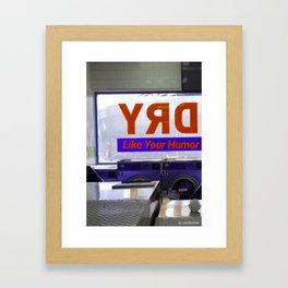 Dry . Framed Art Print