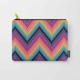 Herringbone Zigzag Carry-All Pouch