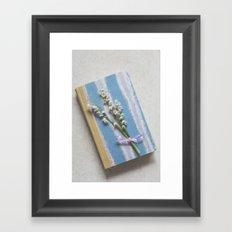 Romantic Book Framed Art Print