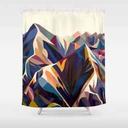 Mountains original Duschvorhang