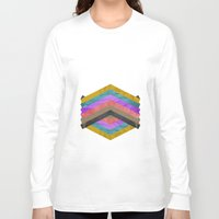 hexagon Long Sleeve T-shirts featuring Hexagon by Kaamil Ajmeri