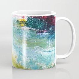 Flying Up - Abstract Painting Coffee Mug