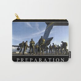 Preparation: Inspirational Quote and Motivational Poster Carry-All Pouch
