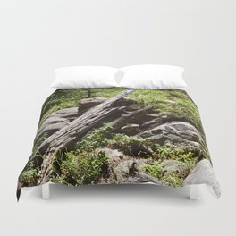 Pointing in the Right Direction Duvet Cover