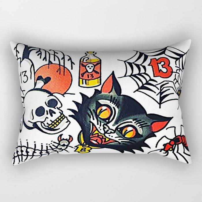 Lucky13 Rectangular Pillow