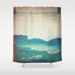 Fractions A18 Shower Curtain