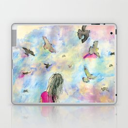 I wish I knew how it would feel to be free Laptop & iPad Skin