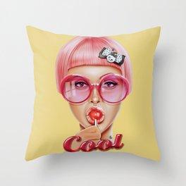 Cool Redux Throw Pillow