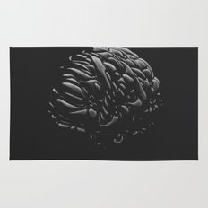 Black Brain Rug