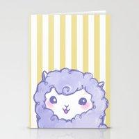 alpaca Stationery Cards featuring Alpaca by Nurt