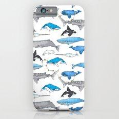 Whale Constellation Slim Case iPhone 6