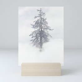 Yellowstone National Park - Ice Covered Tree Mini Art Print