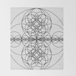 Circle Splendor 7 Throw Blanket