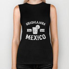 GUADALAJARA - Jalisco - Mexico TShirt - Viva Tequila! Biker Tank