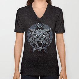 WOLVES OF RAGNAROK Unisex V-Neck