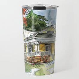 The Autumn House Travel Mug