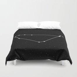 Capricorn Star Sign Night Sky Duvet Cover
