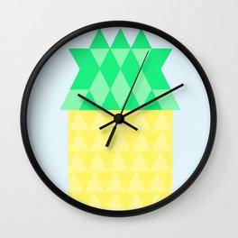 Pineapple House Wall Clock