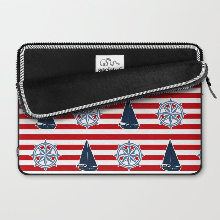 Nautical design Laptop Sleeve
