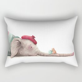 Sick Day Rectangular Pillow