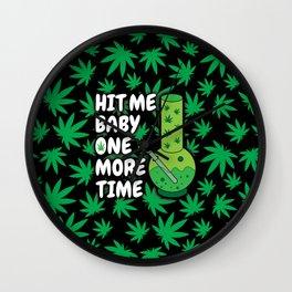 Just Hit It! Wall Clock